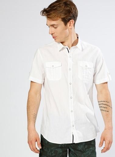 Limon Company Kısa Kollu Gömlek Beyaz
